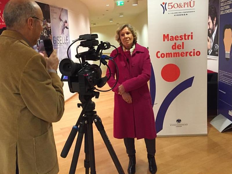 Sandra Cazzola Lovise gestisce anche l'Albergo Lovise vicino Vicenza